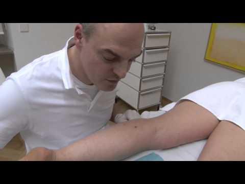 Subkutane Injektionstechnik von Insulin