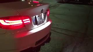 bmw m3 e92 pops and bangs - TH-Clip