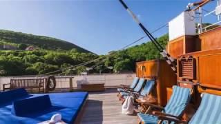 Sea Cloud II: 360° Guided Tour