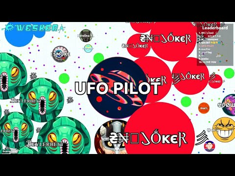 Agario FFA Solo - UFO Pilot 31K - Anthony - Video - Mp3