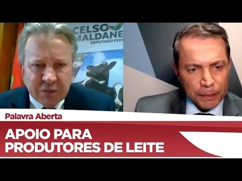 Celso Maldaner fala sobre a falta de apoio para produtores de leite no Brasil - 16/06/21