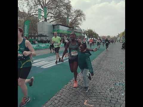 Frissons et fierté éternelle des marathoniens