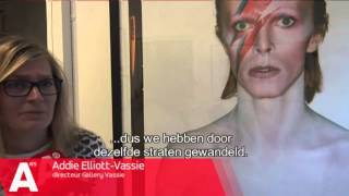 Amsterdammers rouwen om dood icoon David Bowie