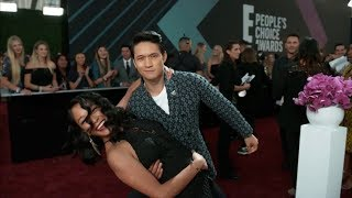 Shadowhunters cast on Instagram of Peoples Choice Awards 2018