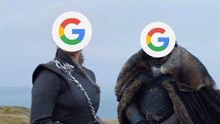 """Что, если сериал """"Игру престолов"""" озвучит на русском Goolge бот? Прикол с Окей Гугл."""