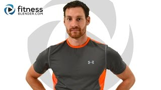 Bodyweight Only Upper Body Workout - Killer Arms, Shoulders, and Upper Back Workout by FitnessBlender