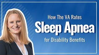 How The VA Rates Sleep Apnea for VA Disability