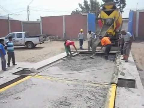BALANZA DE CAMIONES - (Construccion) PESATEC PERU