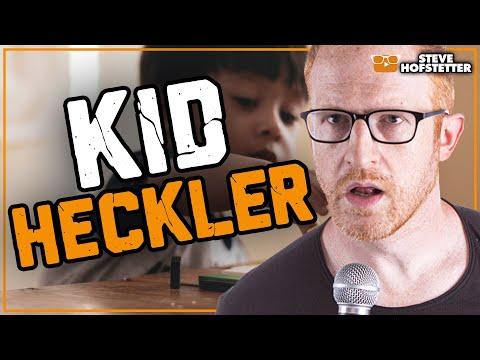 Comedian vs. 5-Year-Old Heckler