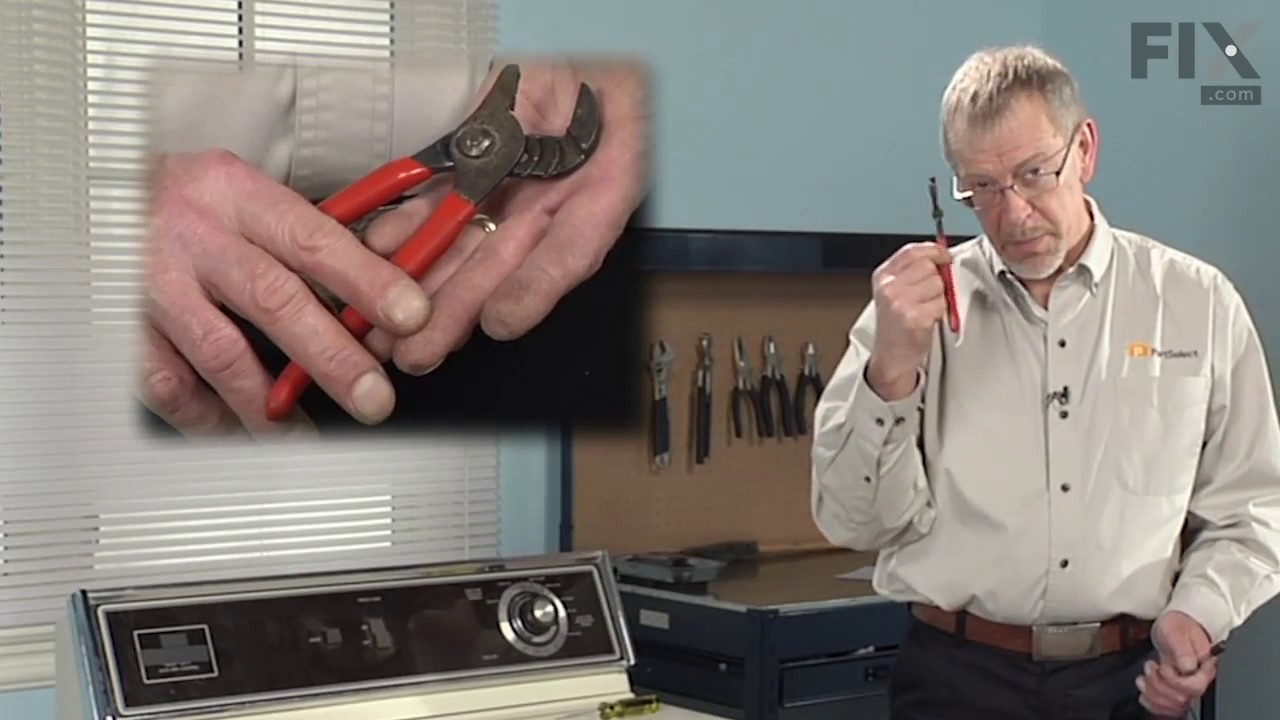 Replacing your Maytag Dryer Idler Pulley Shaft Washer