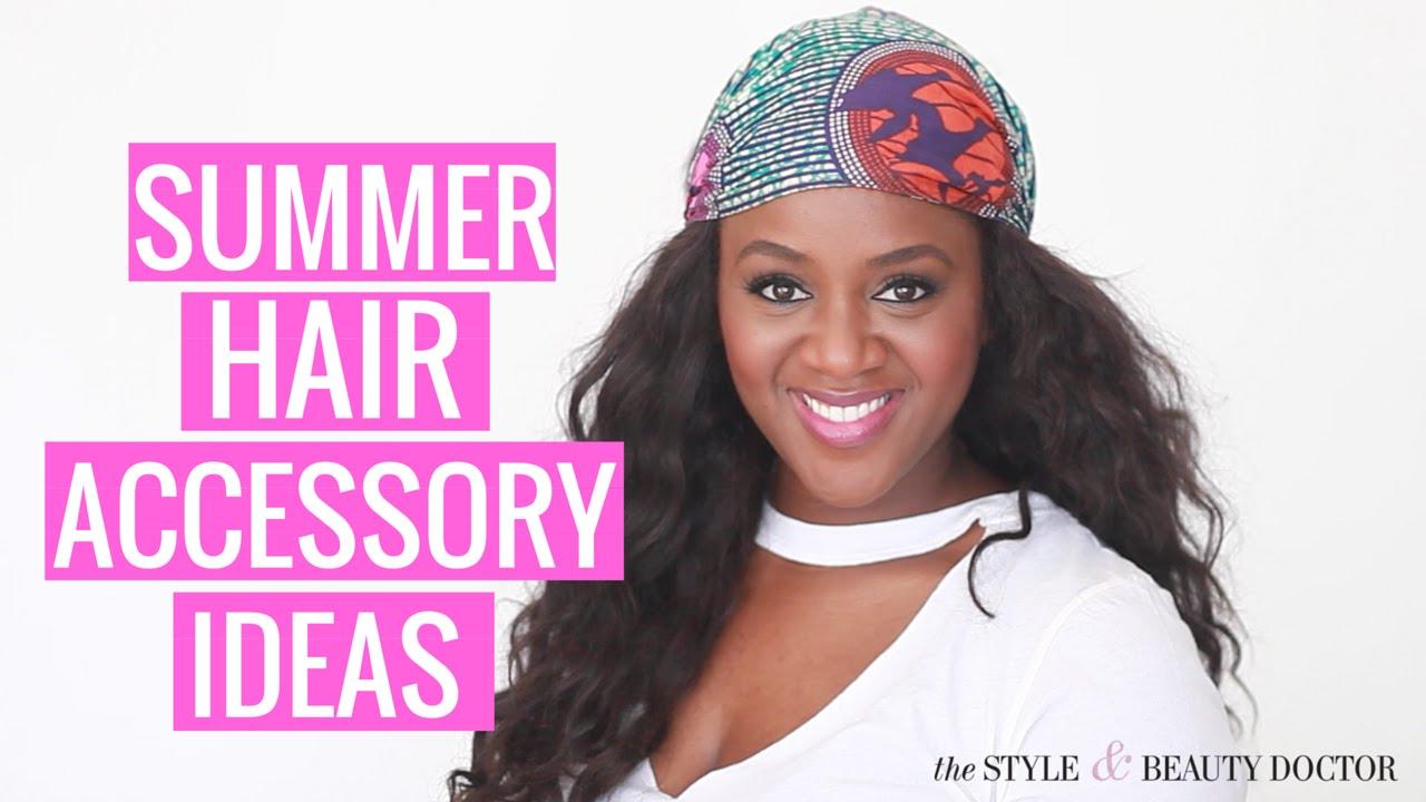 Summer Hair Don't Care: Summer Hair Accessory Ideas!