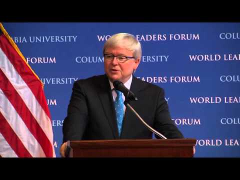 Kevin Rudd, President, Asia Society Policy Institute; Former Prime Minister of Australia