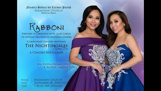 Parish to Hold Rabonni: A Concert For A Cause featuring The Nightingales