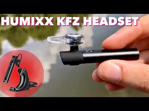 Hochwertiges KFZ Freisprech Headset von Humixx im Test - Ein must have für fahrende Telefonierer !!