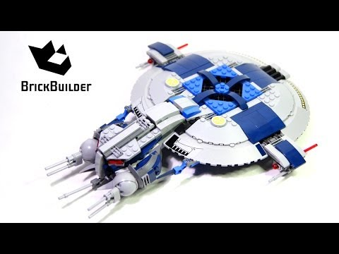 Vidéo LEGO Star Wars 75042 : Droid Gunship