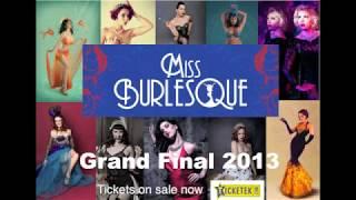 Miss Burlesque Australia 2013 Miss Jane Neo