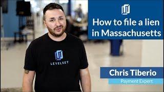 How to File a Mechanics Lien in Massachusetts