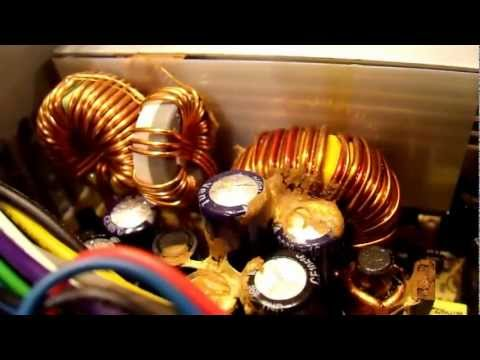 Inside a Failed ATX Computer Power Supply