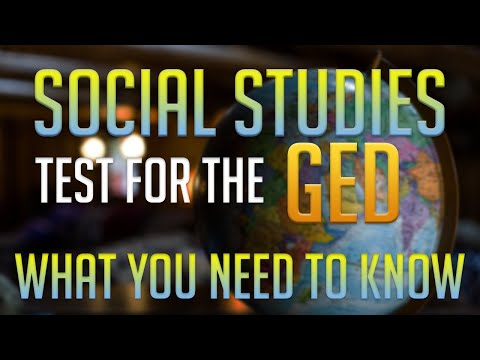 The GED Social Studies Test- What you Need to Know - YouTube