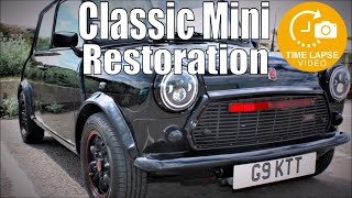 Complete Classic Mini Restoration Timelapse Rust to Show Car in 180 days