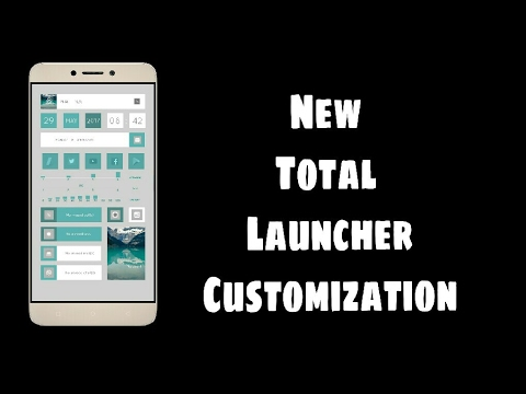 New Total Launcher Customization #2 | Replacement Of Nova + Zooper