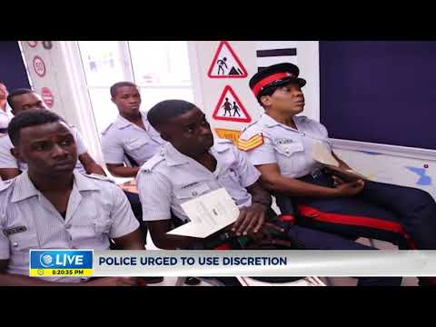 Police graduates 35 newly trained motorcycle operators