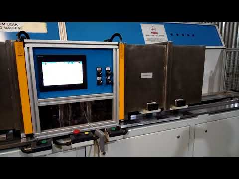 Helium Leak Testing Machine For Fuel Tanks