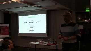 preview picture of video 'Microservices Meetup Munich with James Lewis (2014-12-15)'