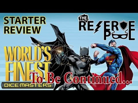 DC Dice Masters World's Finest Starter Review: Basic Actions