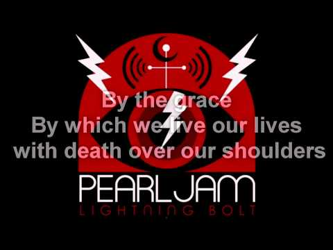 Pearl Jam - Sirens (lyrics)