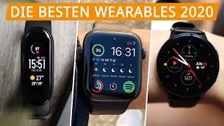 Die besten Wearables 2020: Unsere Fitness Tracker & Smartwatch Testsieger!