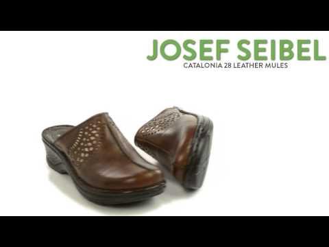 Josef Seibel Catalonia 28 Leather Clogs (For Women)
