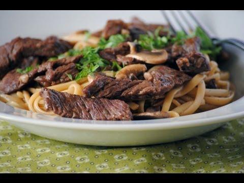 Beef Linguine Recipe – How To Make Linguine With Beef – Sweetysalado.com