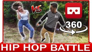 360° VR VIDEO - HIP HOP BATTLE - DANCE VIDEO - VIRTUAL REALITY 3D