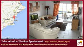 preview picture of video '2 dormitorios 2 baños Apartamento se Vende en Playa Flamenca, Alicante, Spain'