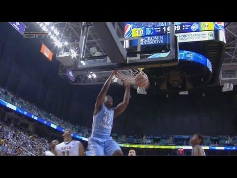 Video: UNC-UNC Greensboro Game Highlights