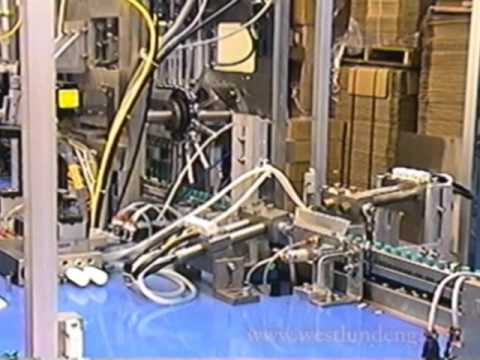 Assembly Machine (Batteries) Shrink Wrap Labeling