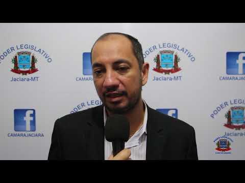 Entrevista do vereador Leomar Rodrigues - Mazinho (PR) - 12/03/2019.