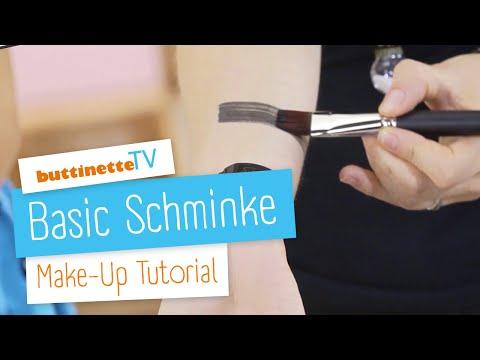 Basic Schminke auftragen | Tutorial | buttinette TV [AQUASCHMINKE & FETTSCHMINKE]