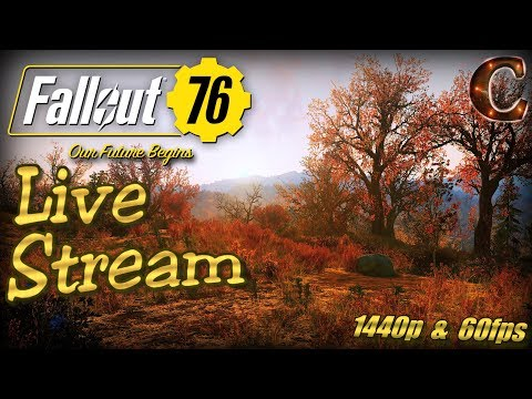 Fallout 76 PC Launch Party, Live Stream in 1440p / 60fps! Slow-Burn Strategy, Tips & Tricks