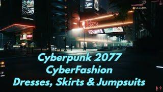 Cyberpunk 2077 CyberFashion - Dresses Skirts Jumpsuits