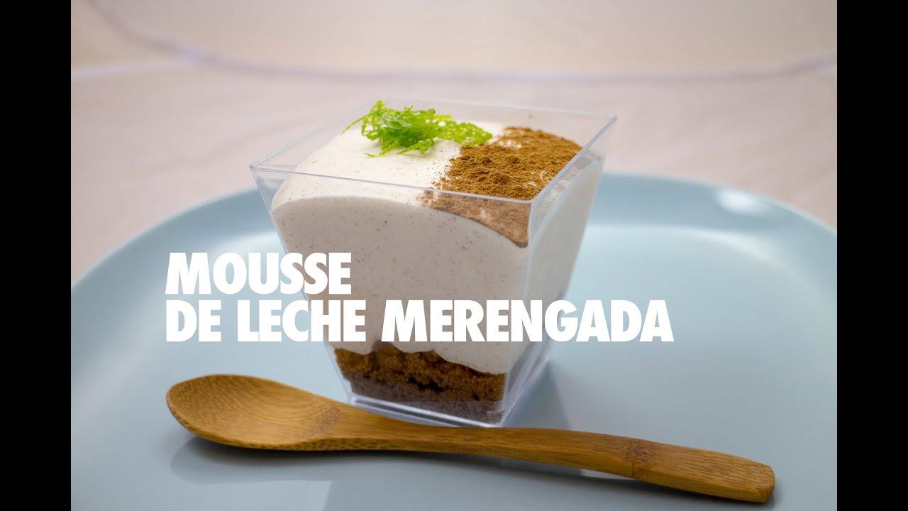 MOUSSE DE LECHE MERENGADA