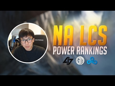 Doublelift- NA LCS Power Rankings (2017 SPRING)