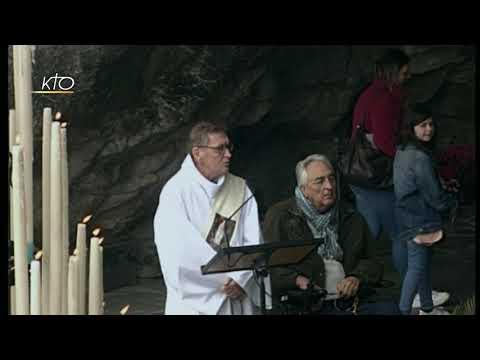 Chapelet à Lourdes du 16 avril 2019