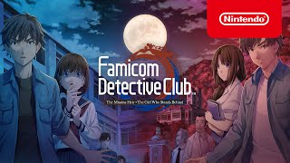 Nintendo Famicom Detective Club: The Missing Heir & The Girl Who Stands Behind — ¡Ya disponibles! anuncio