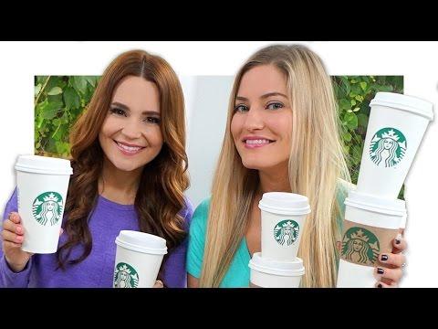 Starbucks Challenge with Ro! | iJustine