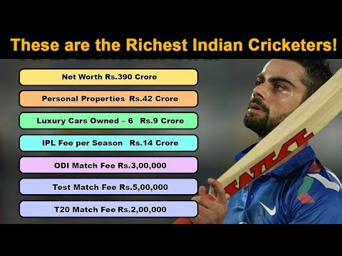 These are the Richest Billionaire Indian Cricketers!