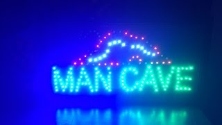 MAN CAVE SIGN | UNBOXING (+other Stuff Too) (not CLICKBAIT) (2017) (2160HD) (Duncan Films)