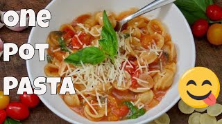 One Pot Pasta Recipe | The Frugal Chef