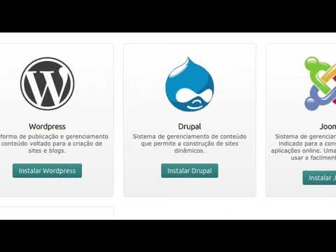 Instale seus aplicativos na Hospedagem Locaweb